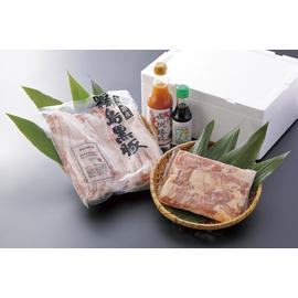長州鶏 黒豚肩ロース鍋セット